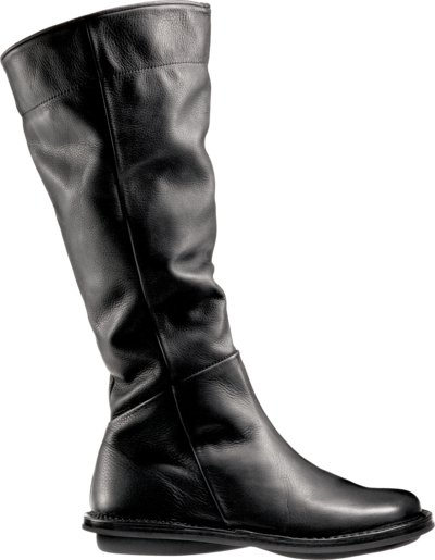 Trippen leather boot Miami in black