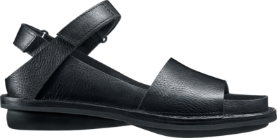 Trippen leather sandal Fez in black