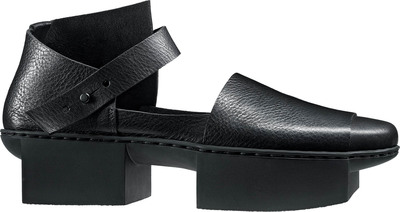 Trippen leather shoe black
