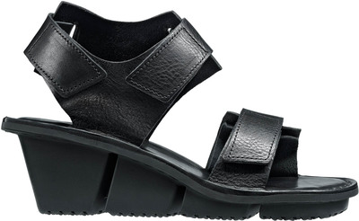 Trippen leather sandals adjustable with velcro