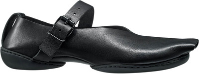 Trippen leather shoe Jetty with open toe