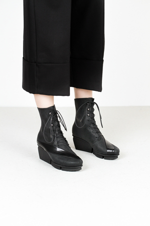 Trippen passage f tiz blk lxp blk leather boots