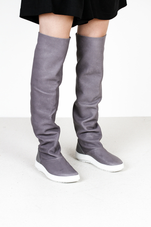 Trippen records f vst taube leather boots