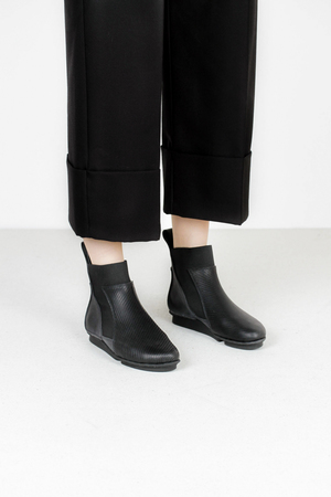 Trippen moment f crd pul blk leather boots 2