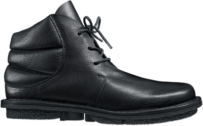 Trippen black leather shoe