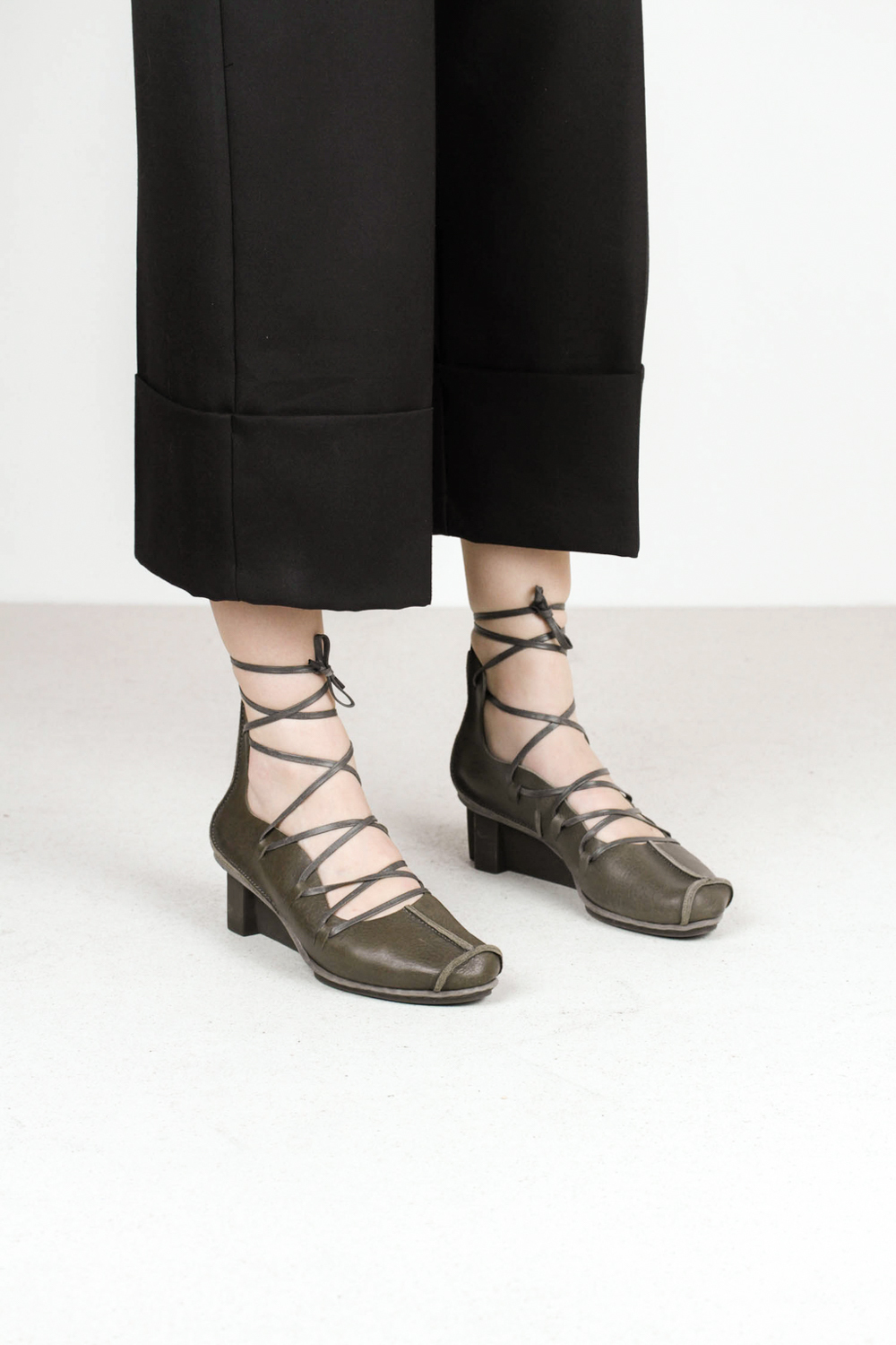 Trippen blade f smog waw xo smg leather sandals