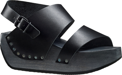 Avantgarde Trippen sandal Hot on a high platform sole