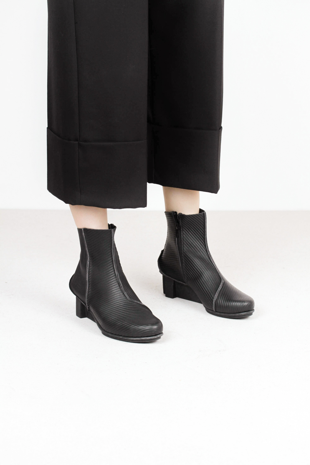 Trippen mere f blk crd xo blk kopie 3 leather boots