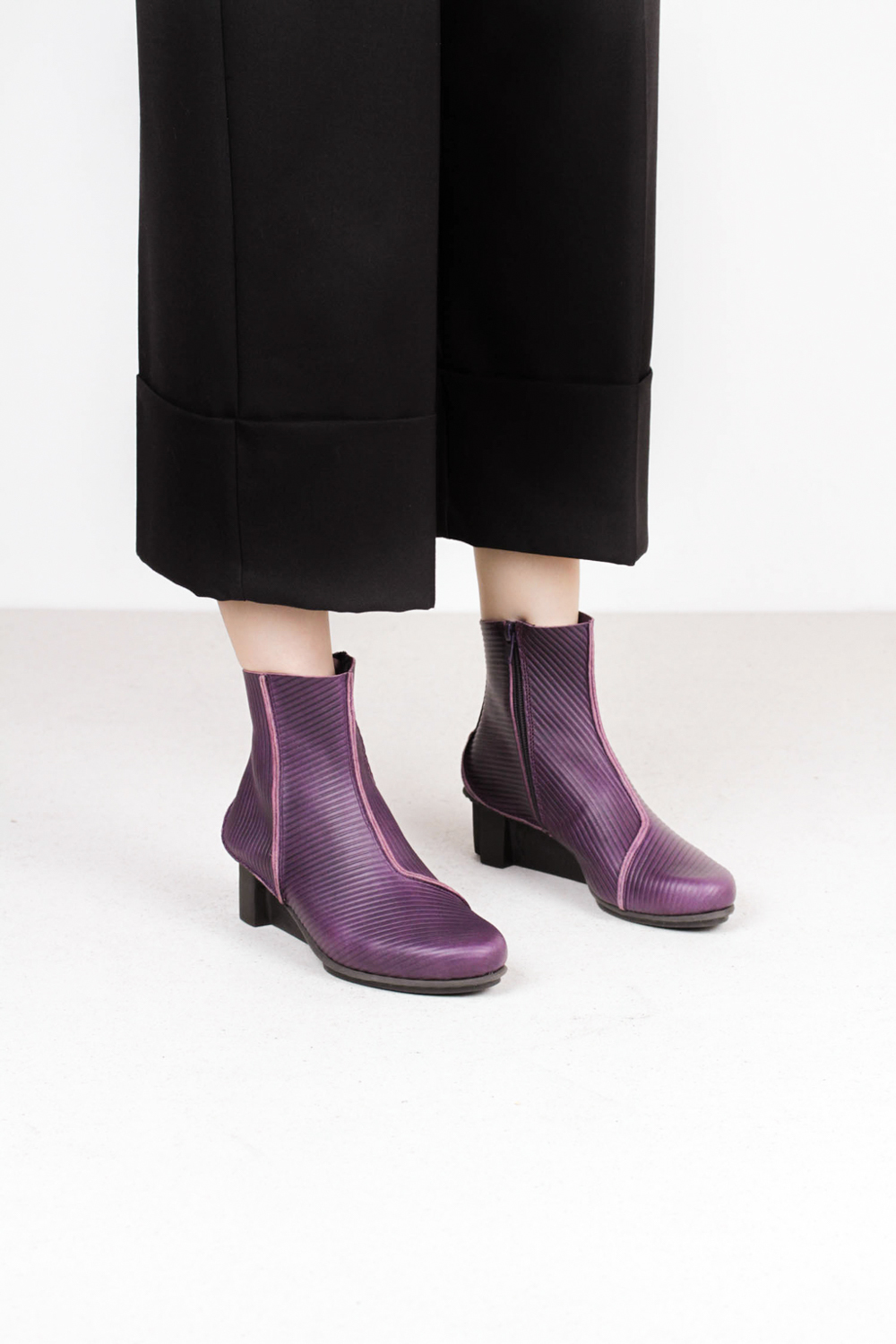 Trippen mere f notte crd xo mor leather boots