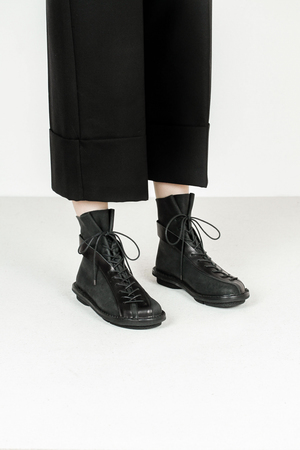 Trippen highway f tiz waw blk leather boots