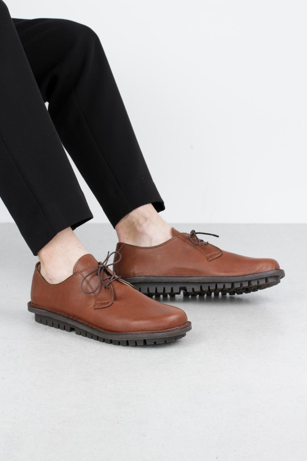 Trippen derby brown waw tr smg leathershoe