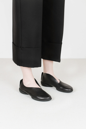 Trippen smooth waw blk leather shoes
