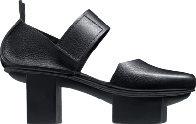 Trippen Court shoe with wide Velcro strap.