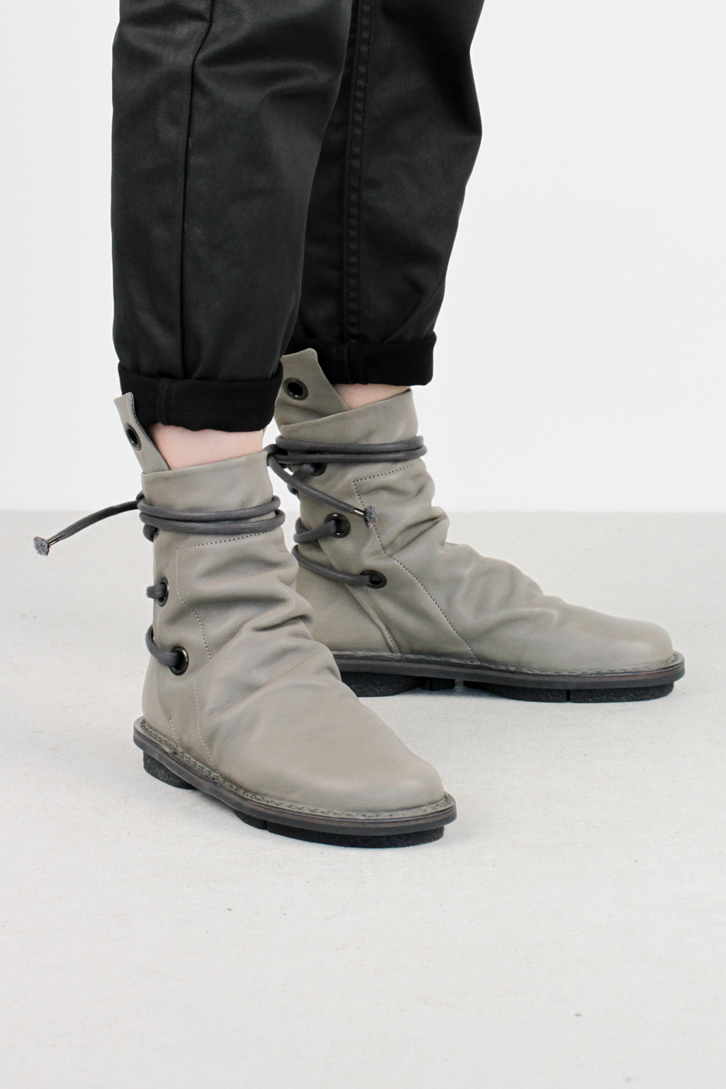 Trippen awning f beton sat leather boots3