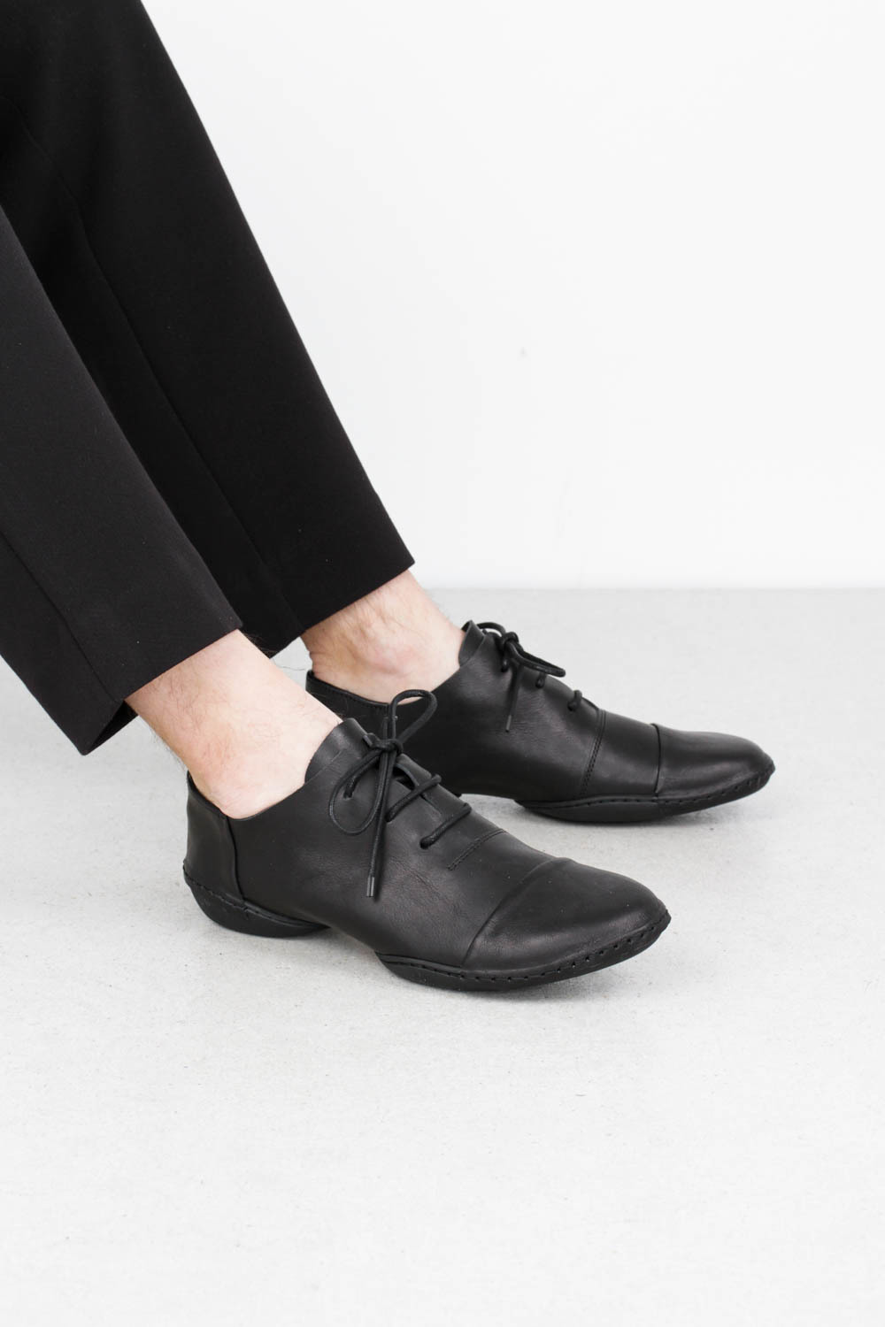 Trippen cello black waw s blk leathershoe1